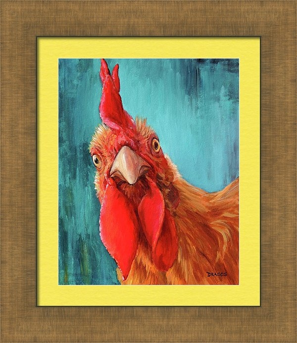 Dottie Dracos - Rooster with Attitude