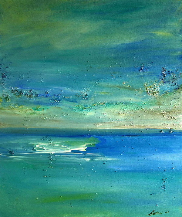 Dolores  Deal -  Pearls of Tranquility Seascape 1