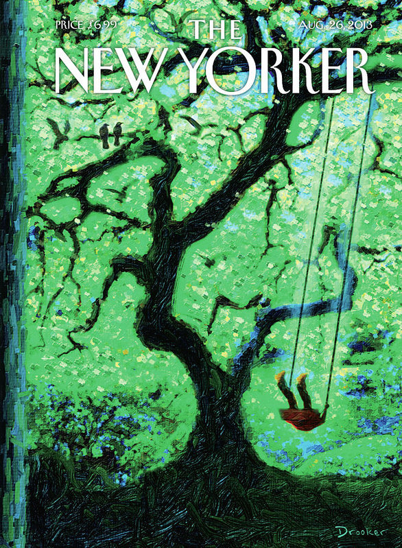 Eric Drooker - New Yorker August 26th, 2013
