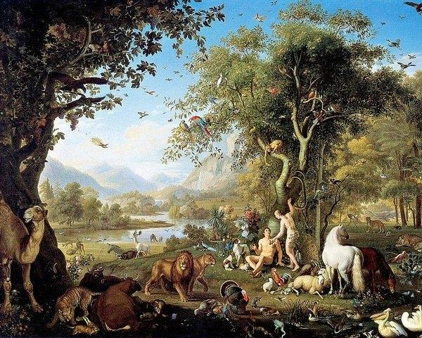 Wenzel Peter - Adam And Eve In The Garden Of Eden