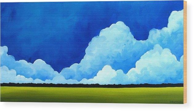 Debbie Criswell - Brilliant Blue - Cotton Candy - folk art