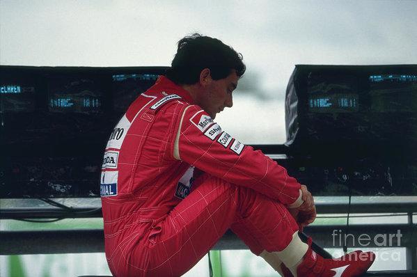 Oleg Konin - Ayrton Senna. 1992 French Grand Prix