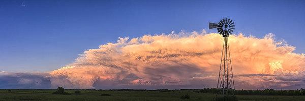 Scott Bean - Kansas Storm and Windmill