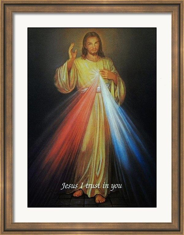 Anna Baker - Divine Mercy Jesus