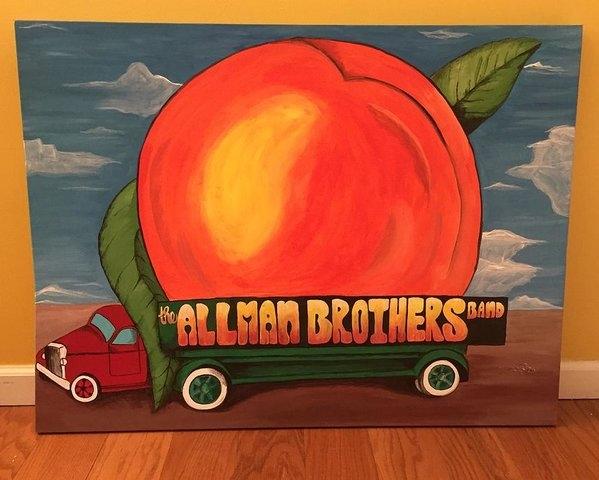 Wes Beaver - Allman Brothers Eat a Peach