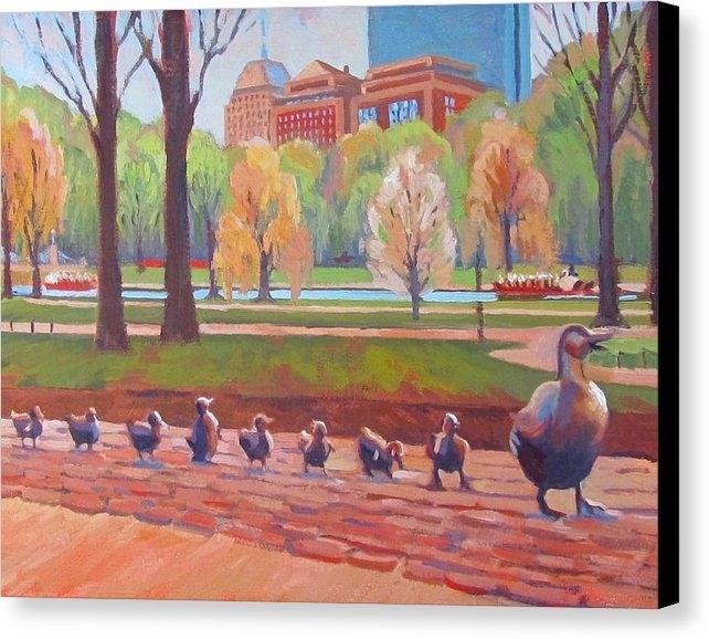 Dianne Panarelli Miller - Make Way for Ducklings