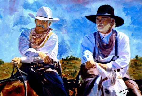 Peter Nowell - Leaving Lonesome Dove