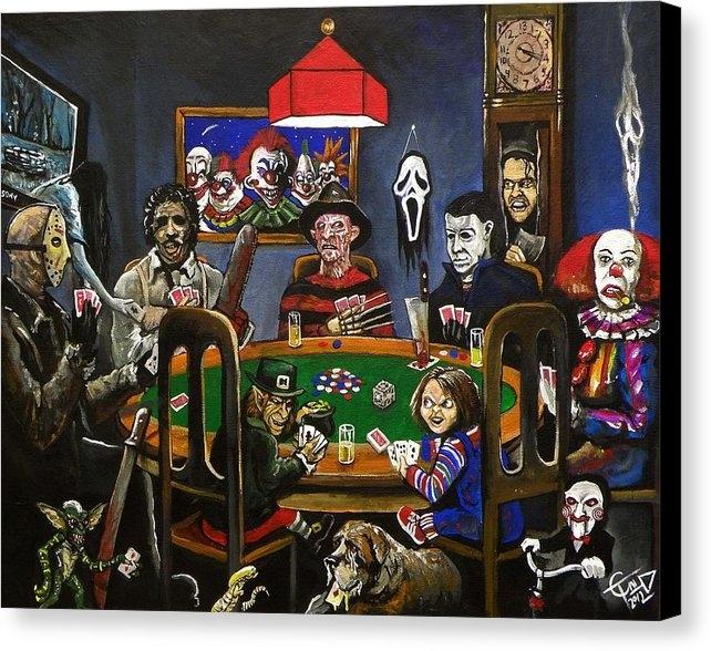 Tom Carlton - Horror Card Game