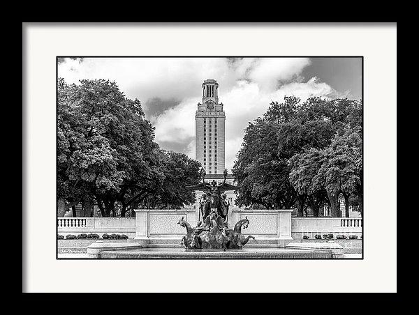 University Icons - University of Texas Austin Littlefield Fountain