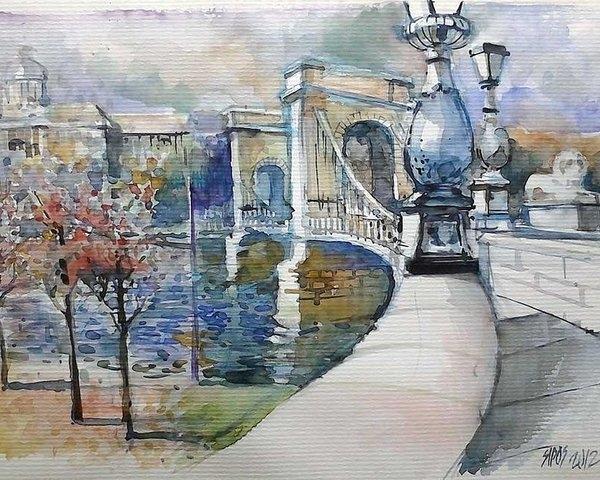 Lorand Sipos - Budapest the Chain Bridge