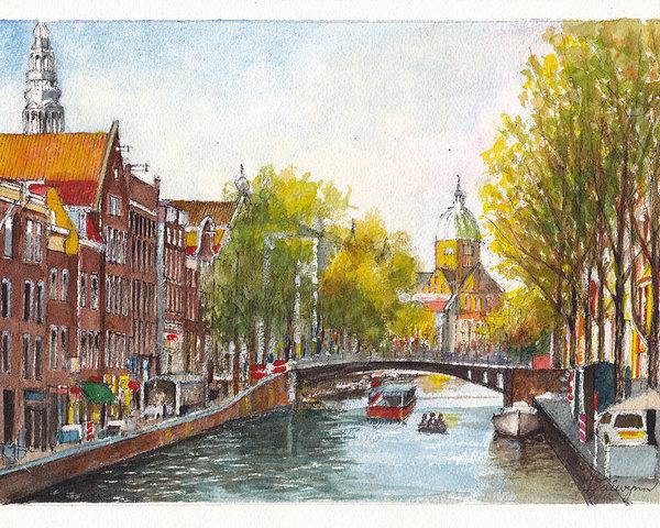 Dai Wynn - Amsterdam in Spring