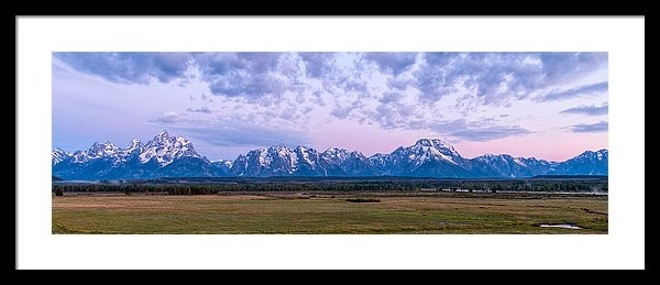 Brian Harig - Grand Tetons Before Sunrise Panorama - Grand Teton National Park Wyoming