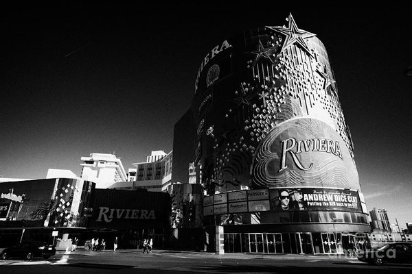 Joe Fox - the riviera hotel and casino Las Vegas Nevada USA
