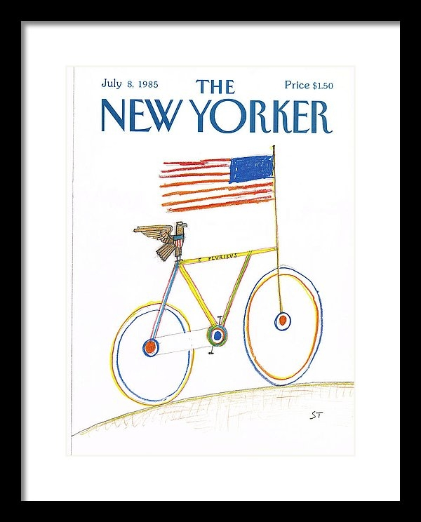 Saul Steinberg - New Yorker July 8th, 1985