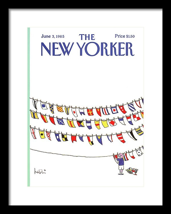 Arnie Levin - New Yorker June 3rd, 1985