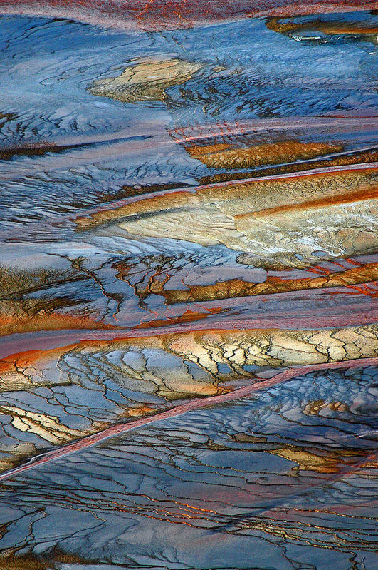 Bruce Gourley - Grand Prismatic Runoff
