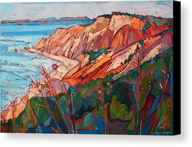 Erin Hanson - Cliffs in Color