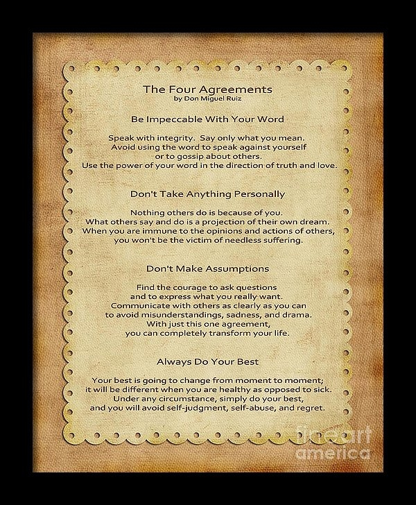 Joseph Keane - 41- The Four Agreements