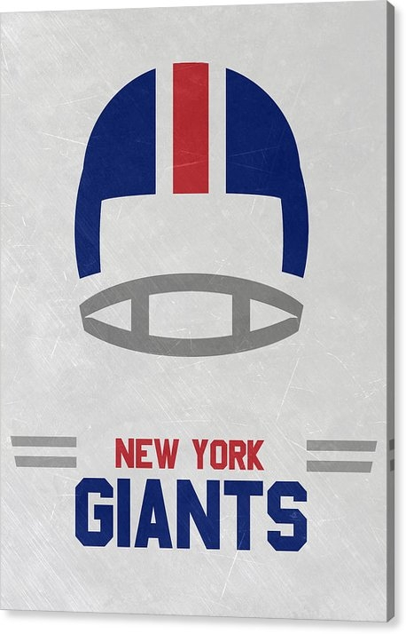 Joe Hamilton - New York Giants Vintage Art