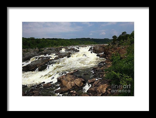James Brunker - Great Falls on the Potomac River Maryland