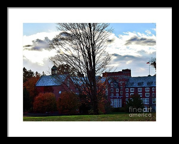 Linda Troski - Late Fall Over Taft School