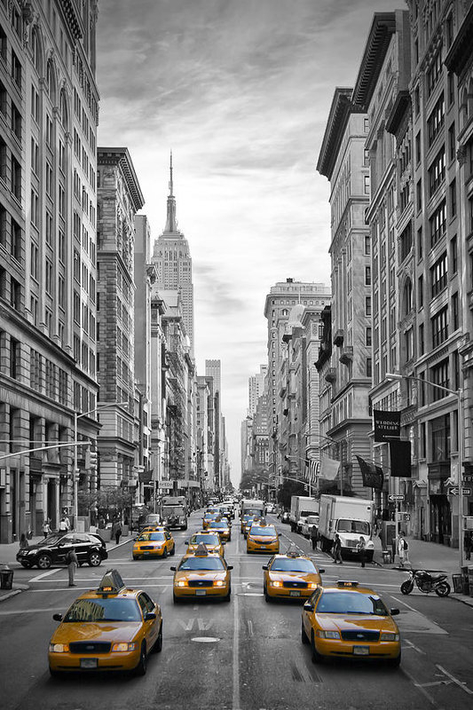 Melanie Viola - 5th Avenue NYC Traffic II