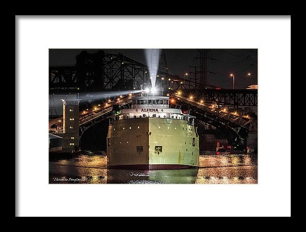 Christine Douglas - SS Alpena - Midnight Transit in the Port of Chicago