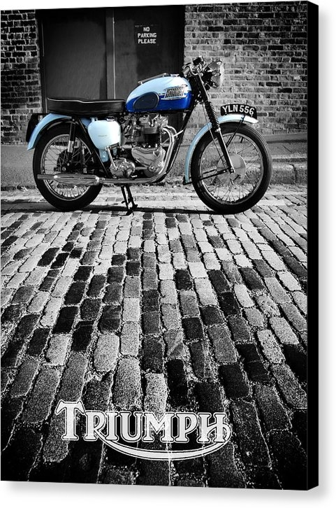 Mark Rogan - Triumph Bonneville