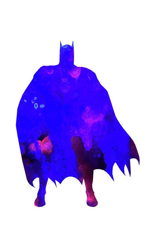 Del Art - Batman print