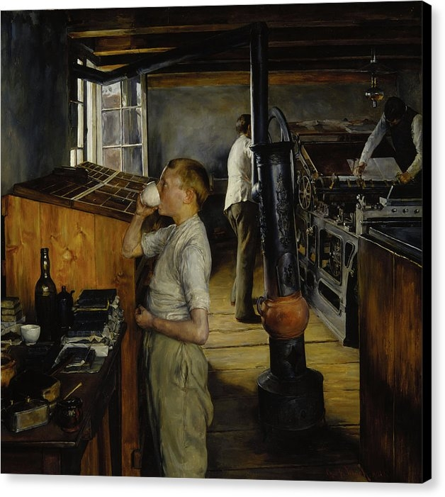 Mountain Dreams - The Village Printing Shop -  Haarlem Holland