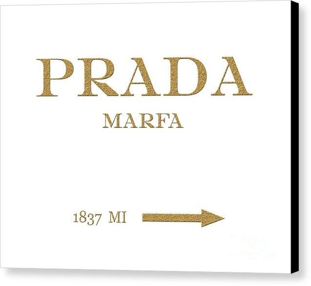 Edit Voros - Prada Marfa Mileage Distance