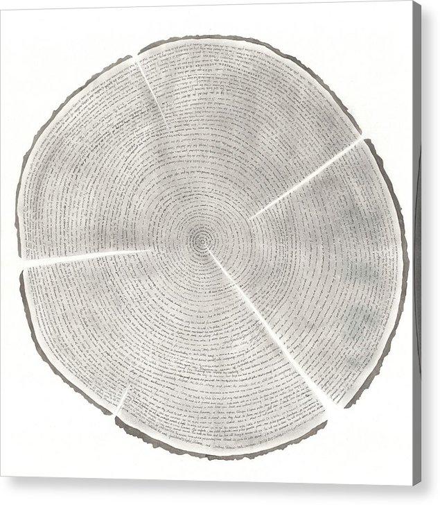 Sandrine Pelissier - Time Lines-Collective Art work
