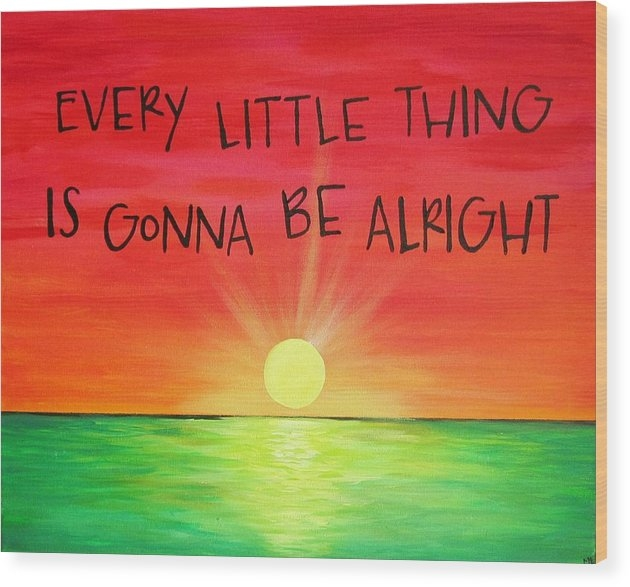 Michelle Eshleman - Every Little Thing Is Gonna Be Alright Sunset