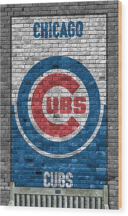 Joe Hamilton - Chicago Cubs Brick Wall