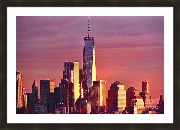 Regina Geoghan - One World Trade at Sunset