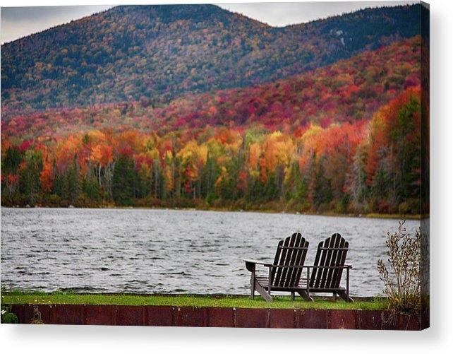Jeff Folger - Fall foliage at Noyes Pond