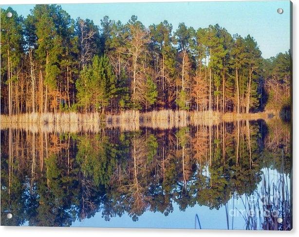 Bob Phillips - East Texas Sunset Reflection