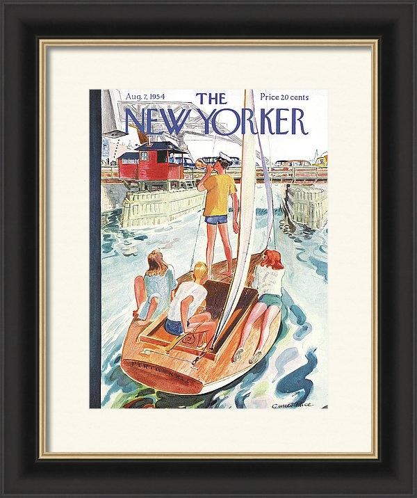 Garrett Price - New Yorker August 7th, 1954