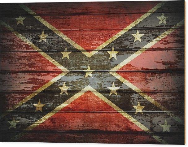 Les Cunliffe - Confederate flag