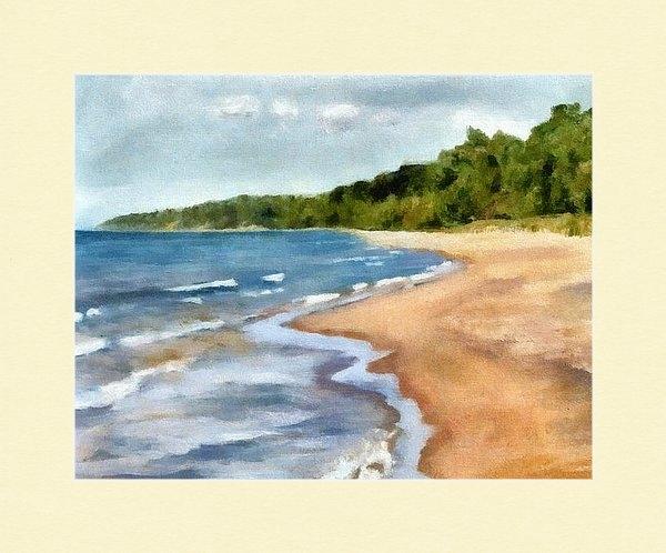 Michelle Calkins - Peaceful Beach at Pier Cove ll