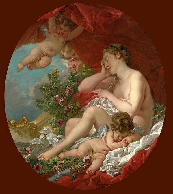 Francois Boucher - The Sleep of Venus