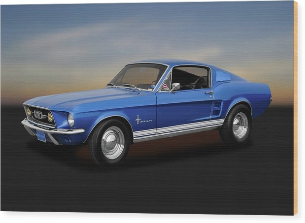 Frank J Benz - 1967 Ford Mustang Fastback 390 Cubic Inch  -  1967FORDMUSTANG170253