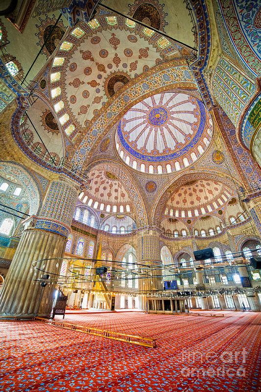 Artur Bogacki - Blue Mosque Interior