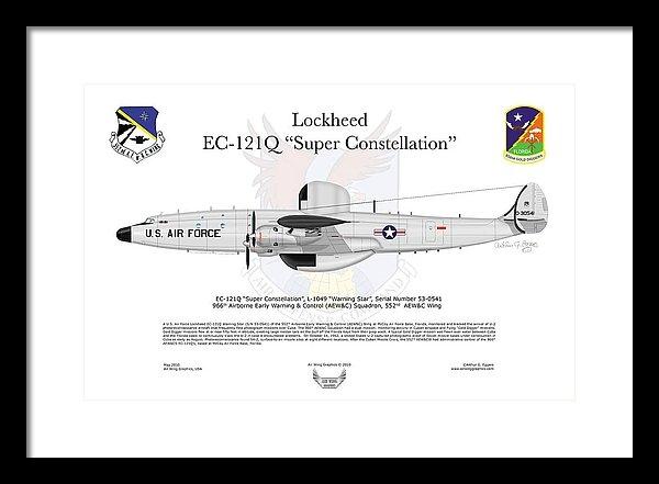 Arthur Eggers - Lockheed EC-121Q Gold Diggers