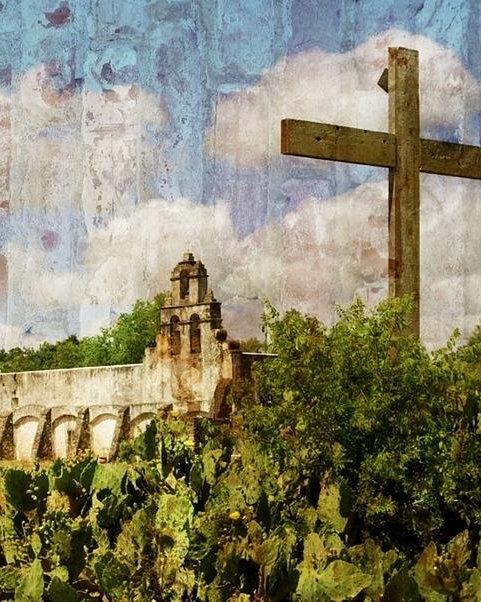Gary Richards - Textured Mission San Juan