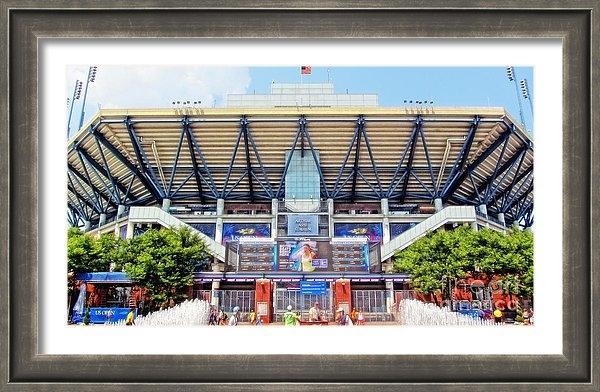 Nishanth Gopinathan - Arthur Ashe Tennis Stadium