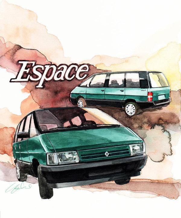 Yoshiharu Miyakawa - Renault Espace