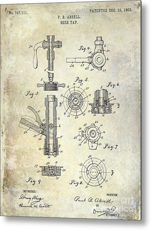 Jon Neidert - 1903 Beer Tap Patent