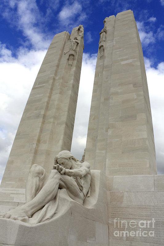 Julia Gavin - Vimy Ridge Memorial France