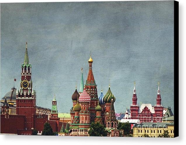 Elena Nosyreva - Red Square Moscow